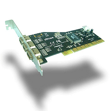 IEEE 1394  3 Port  PCI  Host  Adapter
